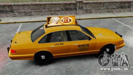 Véritable publicité sur les taxis et les bus pour GTA 4 onzième écran