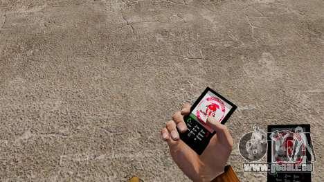 Das Thema für das Telefon FC-Olympiakos für GTA 4