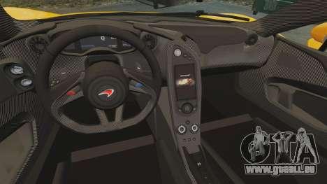 McLaren P1 2014 [EPM] für GTA 4 Innenansicht
