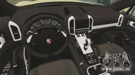 Porsche Cayenne 2012 SR pour GTA 4 est une vue de l'intérieur