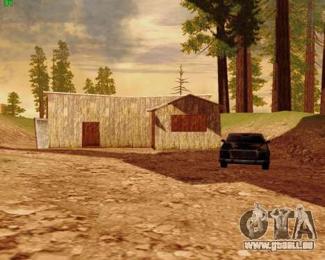 ENB Series for SAMP pour GTA San Andreas cinquième écran