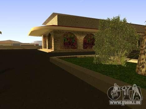 Railway station Las Venturas v1.0 pour GTA San Andreas troisième écran