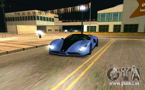 Der Gepard von GTA 5 für GTA San Andreas
