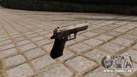 Pistolet Jericho 941 pour GTA 4 secondes d'écran