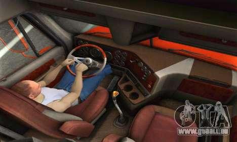 Freightliner Coronado für GTA San Andreas Seitenansicht