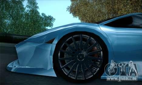 Lamborghini Murcielago GT Coloured für GTA San Andreas Innen