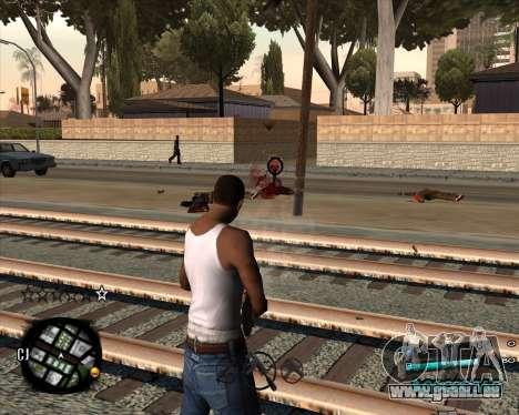 C-HUD by Menson pour GTA San Andreas