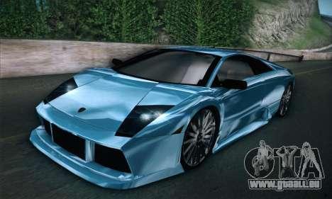 Lamborghini Murcielago GT Coloured für GTA San Andreas zurück linke Ansicht
