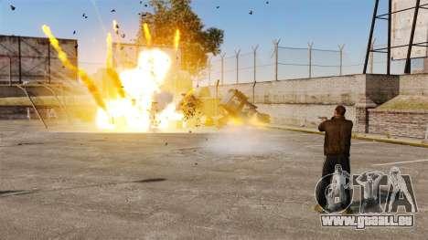 Tir de roquettes pour GTA 4 troisième écran