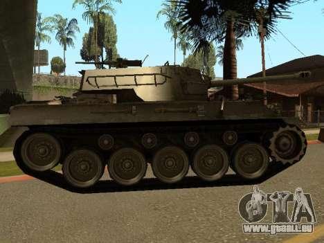 M18-Hellcat für GTA San Andreas zurück linke Ansicht