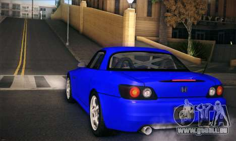 Honda S2000 für GTA San Andreas Seitenansicht