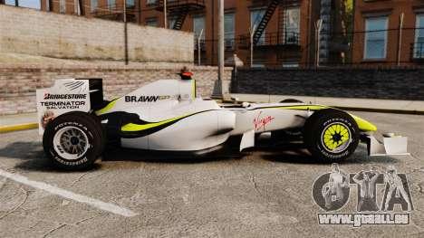 Brawn BGP 001 2009 pour GTA 4 est une gauche