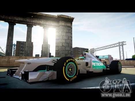 Mercedes F1 W04 pour GTA 4