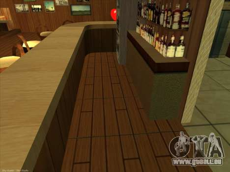 Nouvelles textures pour intérieur pour GTA San Andreas quatrième écran