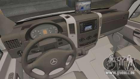 Mercedes-Benz Sprinter 2500 Delivery Van 2011 pour GTA 4 est un côté