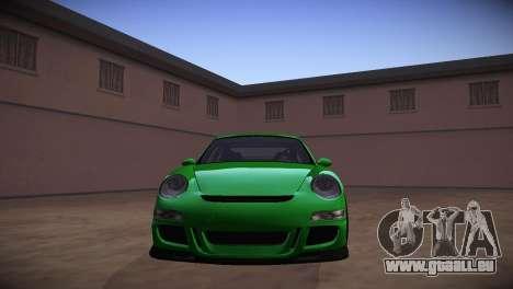 Porsche 911 TT Ultimate Edition pour GTA San Andreas vue arrière