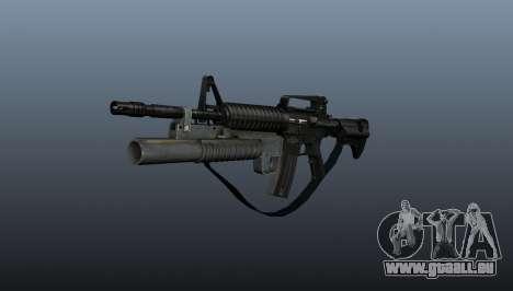 Automatique carabine M4A1 v1 pour GTA 4