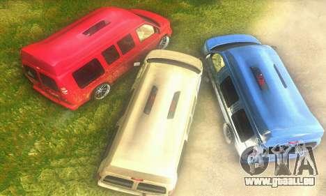 GMC Savana pour GTA San Andreas vue de droite