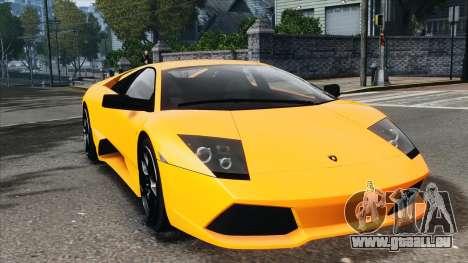 Lamborghini Murcielago LP640 2007 [EPM] pour GTA 4 est une gauche