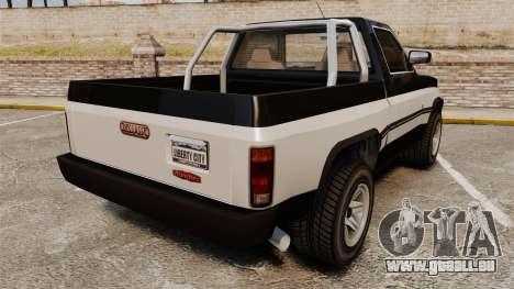 Declasse Rancher 1998 pour GTA 4 Vue arrière de la gauche