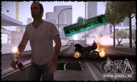 Trevor, Michael, Franklin pour GTA San Andreas cinquième écran