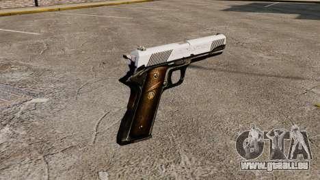 Pistole Colt M1911 Ritter für GTA 4 Sekunden Bildschirm