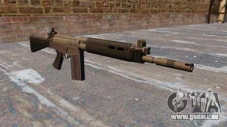 Fusil de bataille FN FAL pour GTA 4