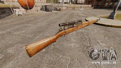 M1903A1 Springfield Scharfschützengewehr für GTA 4 Sekunden Bildschirm