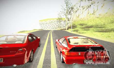 Honda CRX - Stock für GTA San Andreas rechten Ansicht