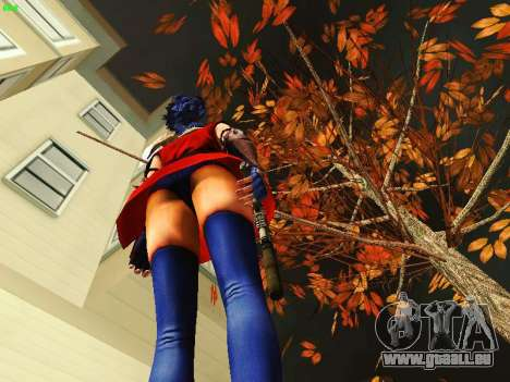 Juliet Starling pour GTA San Andreas deuxième écran