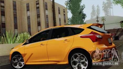 Ford Focus ST 2013 pour GTA San Andreas vue de droite