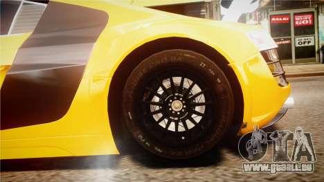 Audi R8 LMS für GTA 4 Innenansicht