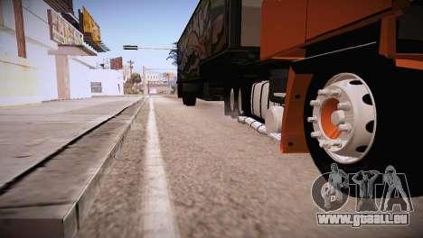 Scania LK 141 6x2 pour GTA San Andreas vue de droite