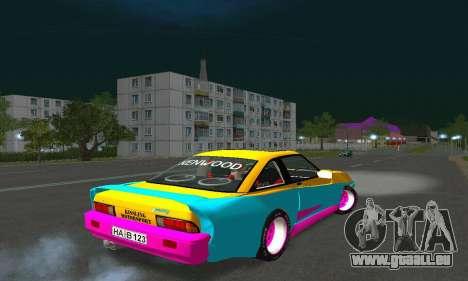 Opel Manta Mattig Extreme pour GTA San Andreas sur la vue arrière gauche