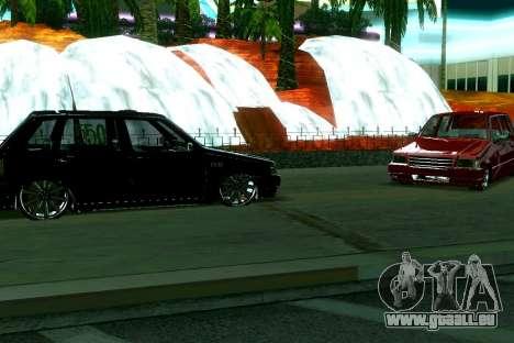 Fiat Uno 2010 Clase 4 für GTA San Andreas linke Ansicht