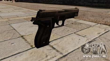 SIG-Sauer P226 Pistol für GTA 4 Sekunden Bildschirm
