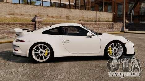 Porsche 911 GT3 (991) 2013 pour GTA 4 est une gauche