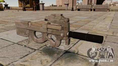 Pistolet mitrailleur P90 pour GTA 4