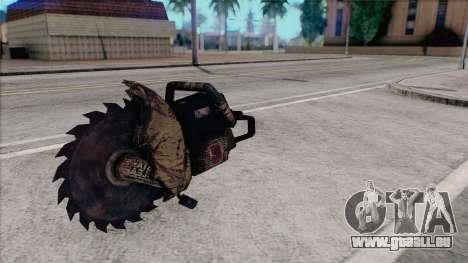 Tronçonneuse de Silent Hill Home Coming pour GTA San Andreas troisième écran