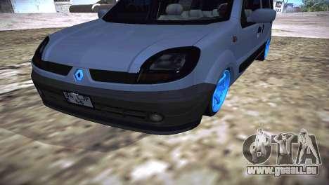 Renault Kangoo 2005 v1.0 TMC pour GTA San Andreas vue de droite