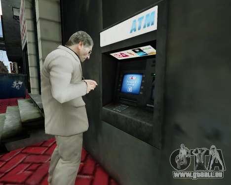 Compte au guichet automatique pour GTA 4