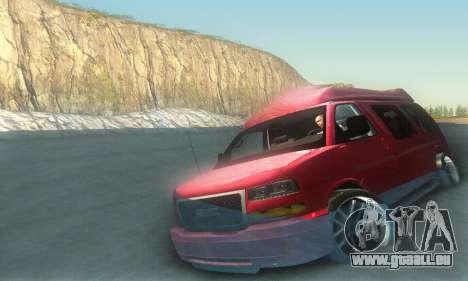 GMC Savana für GTA San Andreas Innen