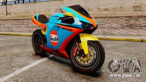 Ducati 848 Gulf pour GTA 4