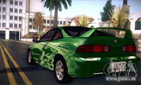 Honda Integra Normal Driving für GTA San Andreas linke Ansicht