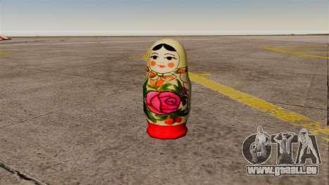 Granatapfel russische Puppe für GTA 4