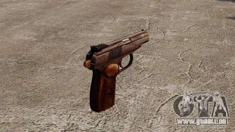 Ladewagen Pistole Makarowa für GTA 4 Sekunden Bildschirm
