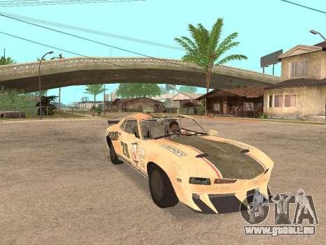 AMC Javelin AMX pour GTA San Andreas vue de droite