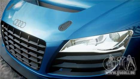Audi R8 LMS für GTA 4 Unteransicht