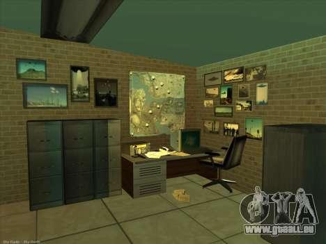 Nouvelles textures pour intérieur pour GTA San Andreas cinquième écran
