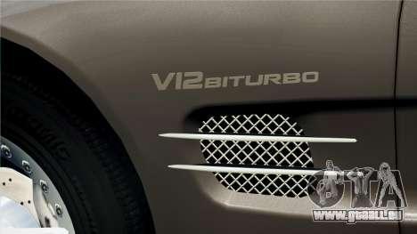 Mercedes-Benz SL65 2007 pour GTA 4 est un droit
